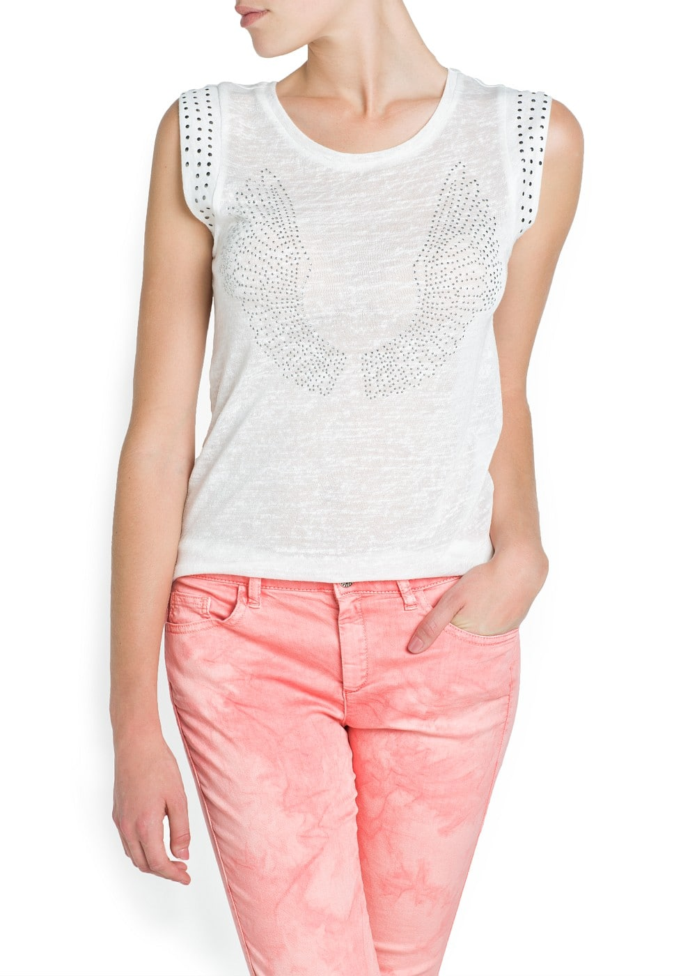 STRASS WINGS T-SHIRT