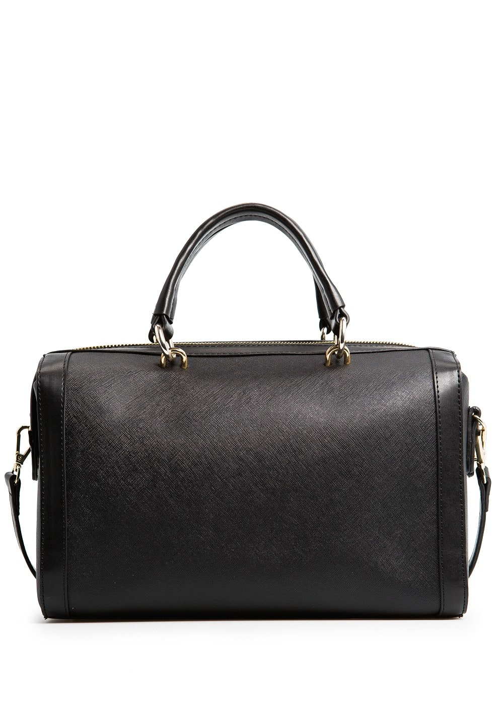 SAFFIANO EFFECT BOWLING BAG