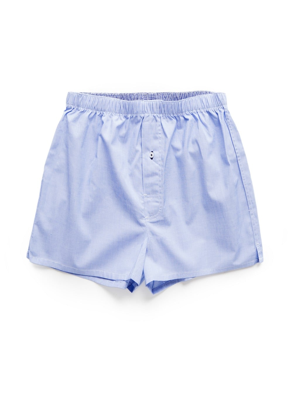 End-on-end cotton boxer shorts