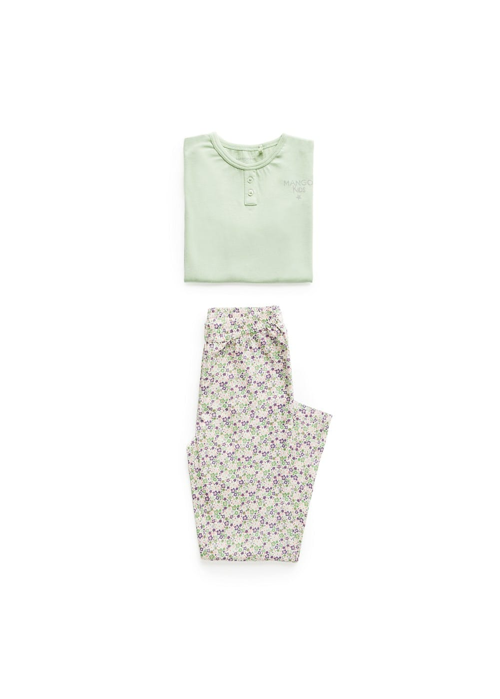 Liberty print cotton pyjamas | MANGO KIDS