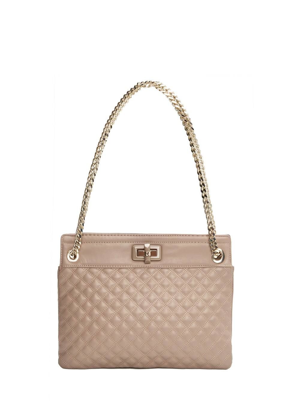 Chain quilted bag