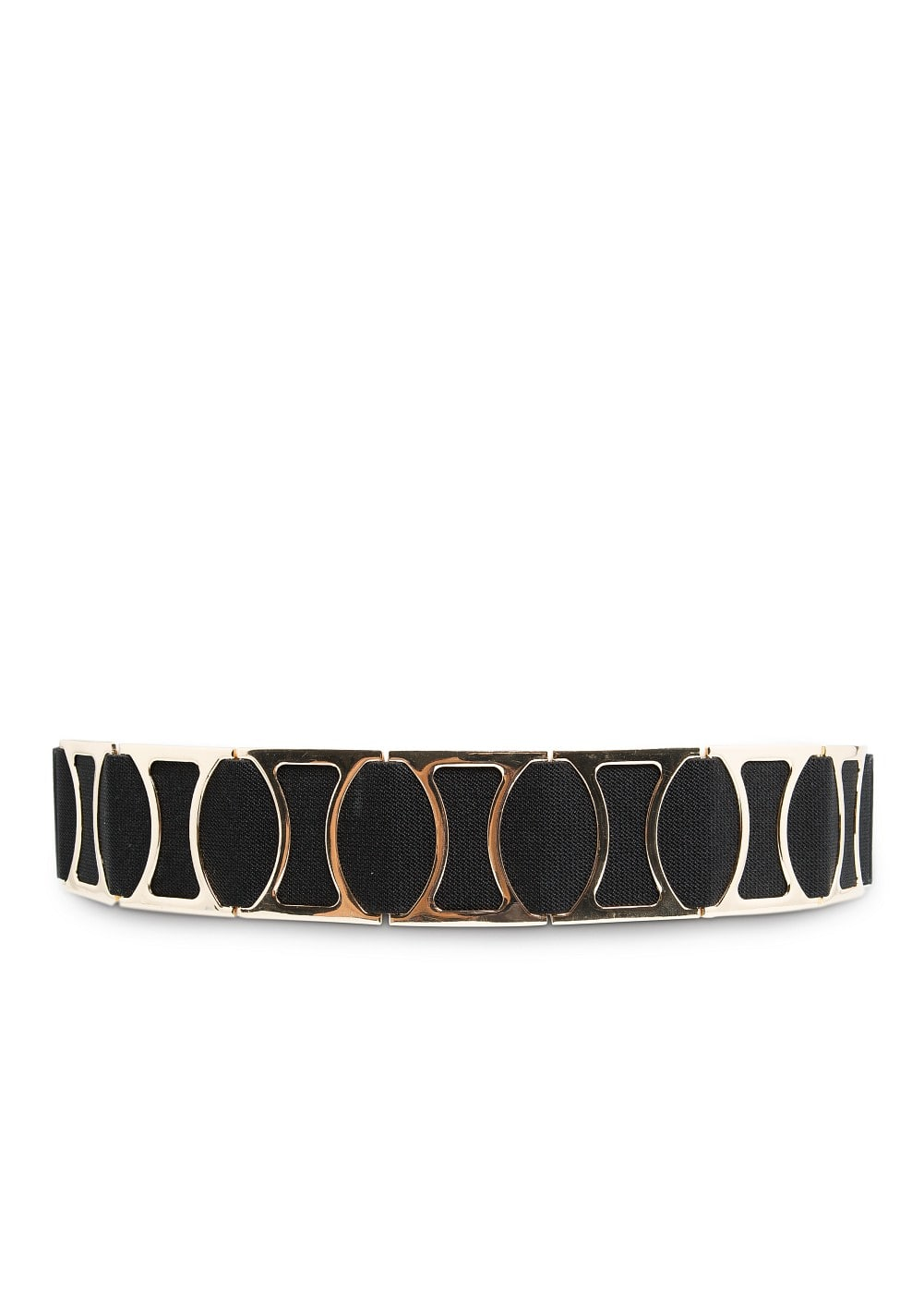 Metal appliqués elastic belt | MANGO