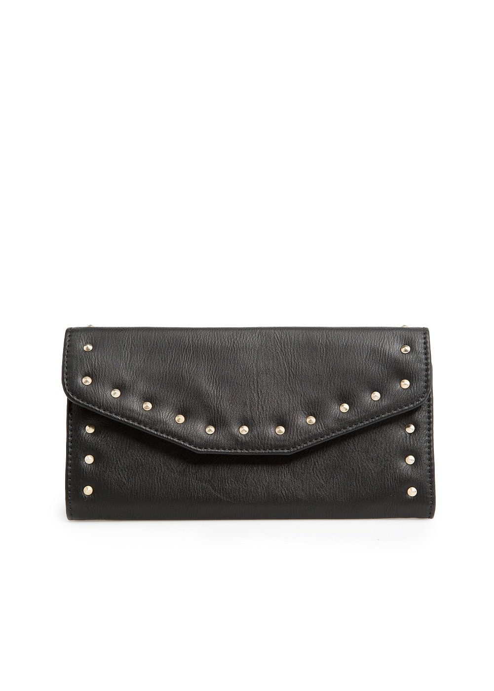Studded flap wallet | MANGO