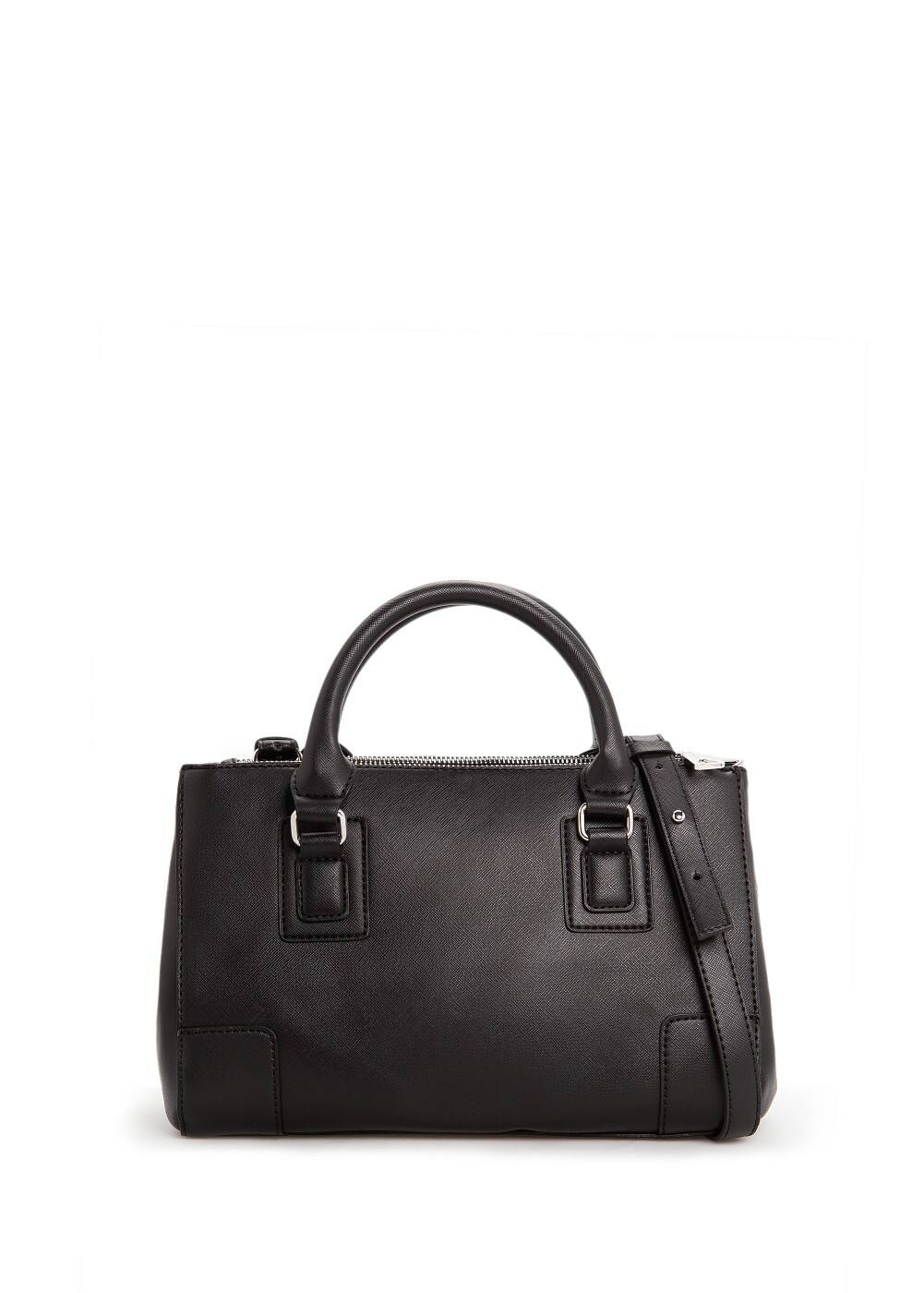 Saffiano-effect tote bag | MANGO