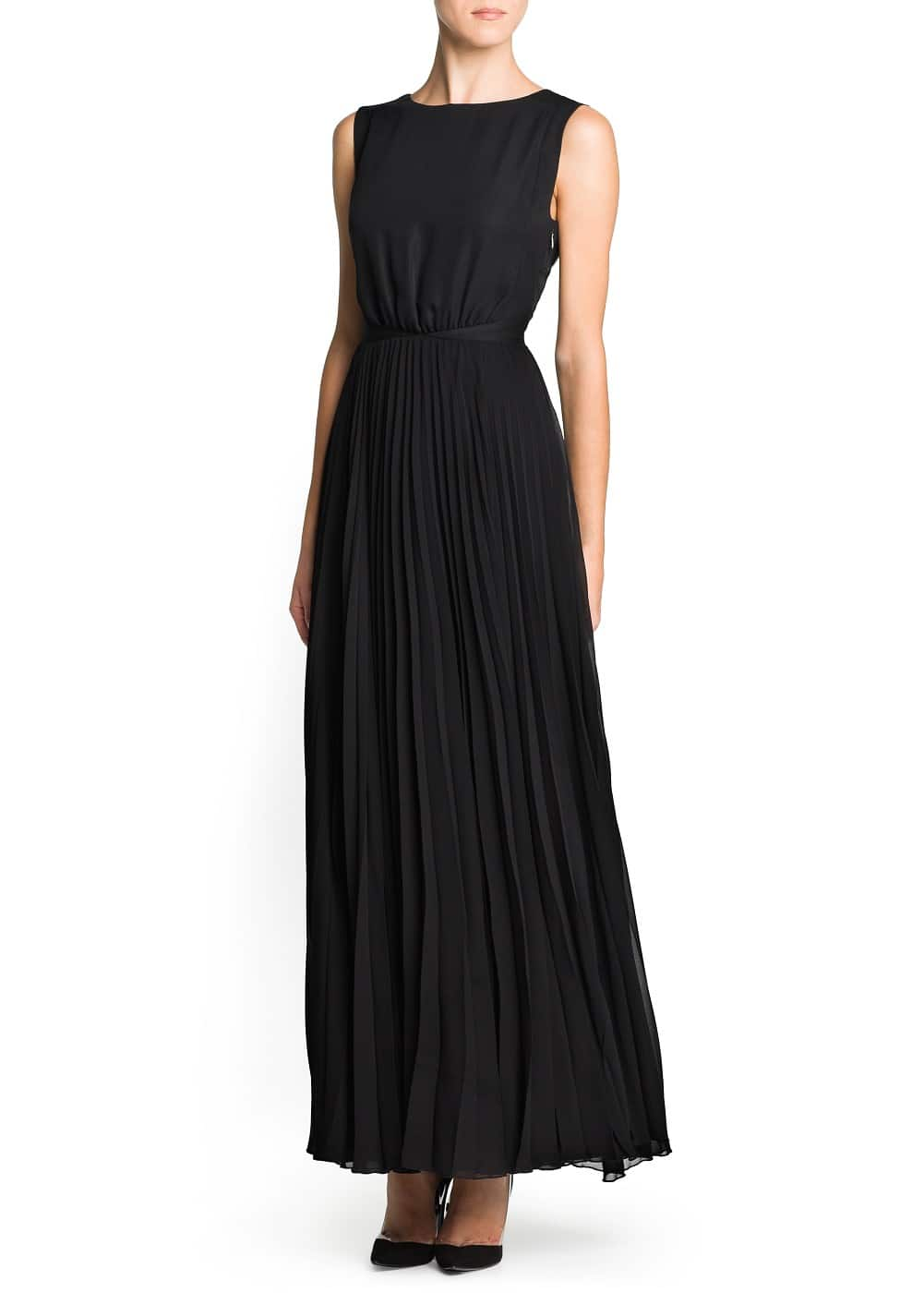 Contrast back gown
