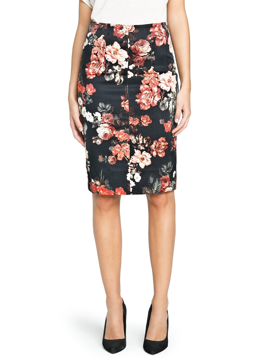 Pencil skirt with print – Modern skirts blog for you