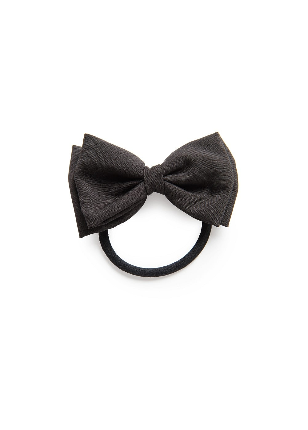 Cotton bow hair tie