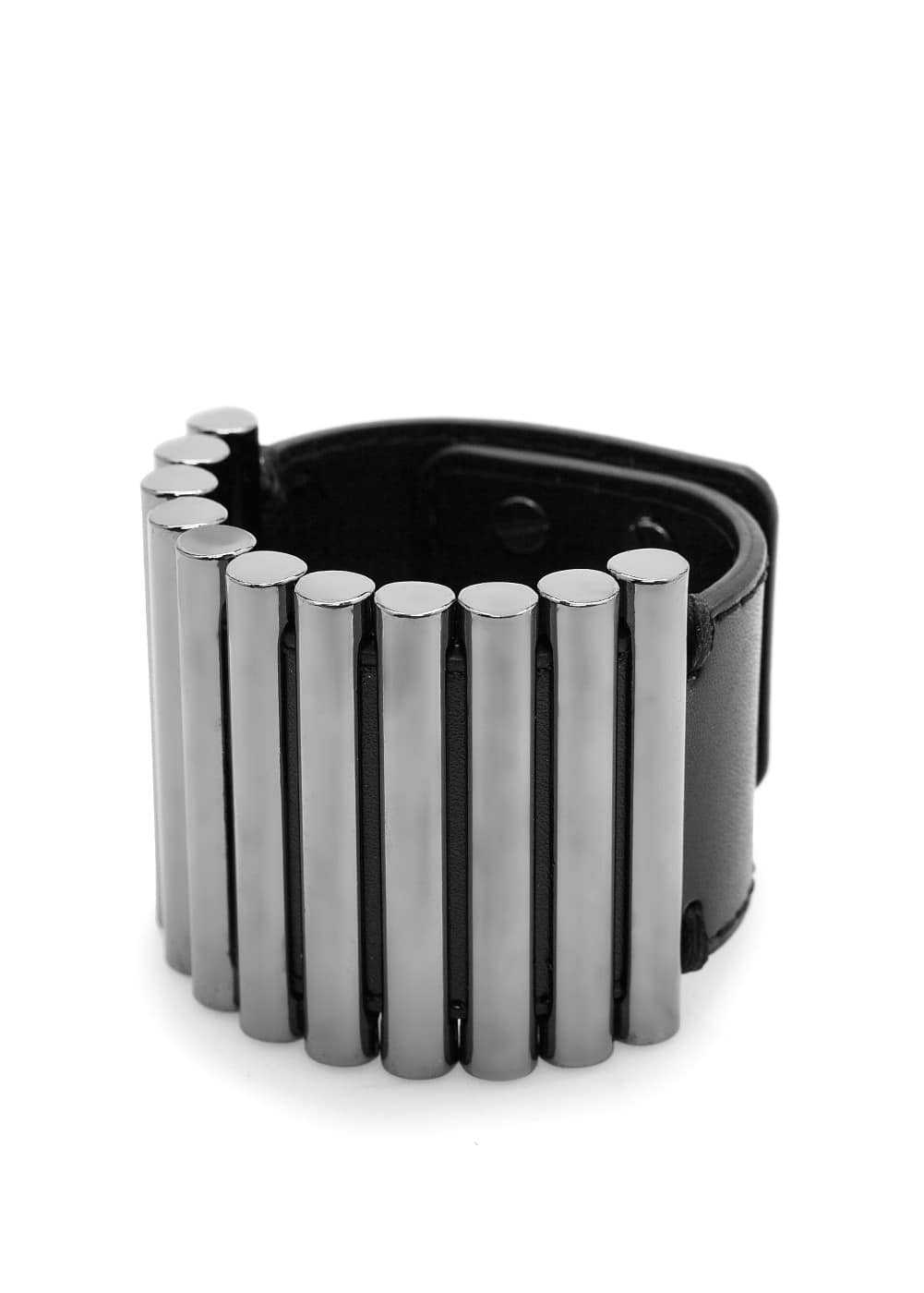 Metal pieces cuff | MANGO