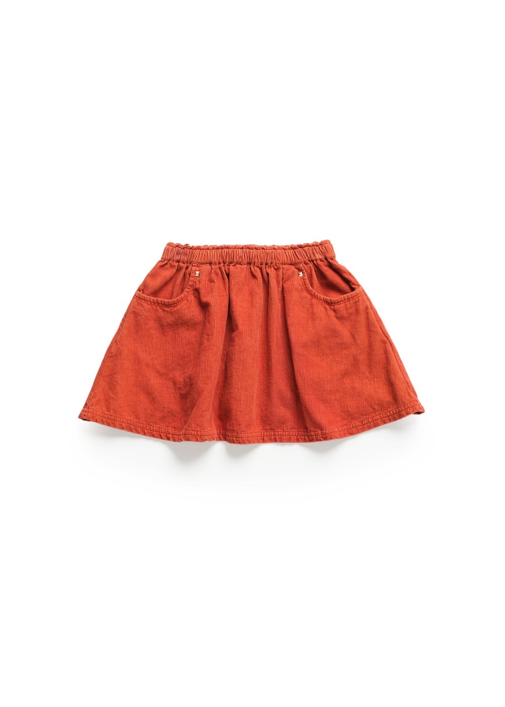 CORDUROY FLARED SKIRT