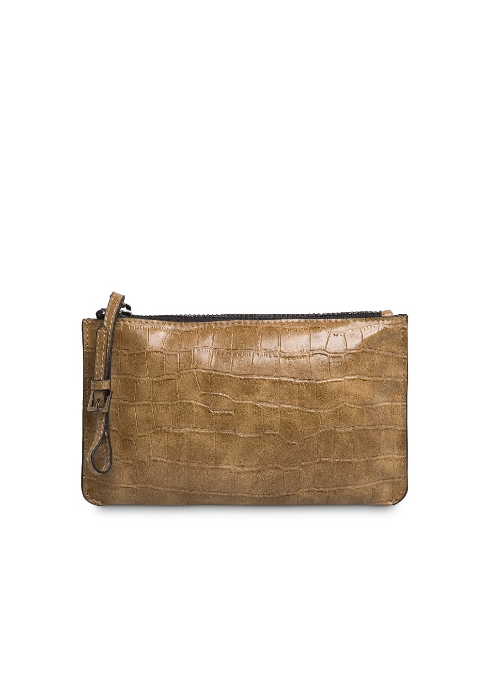 Croc effect cosmetic bag | MANGO