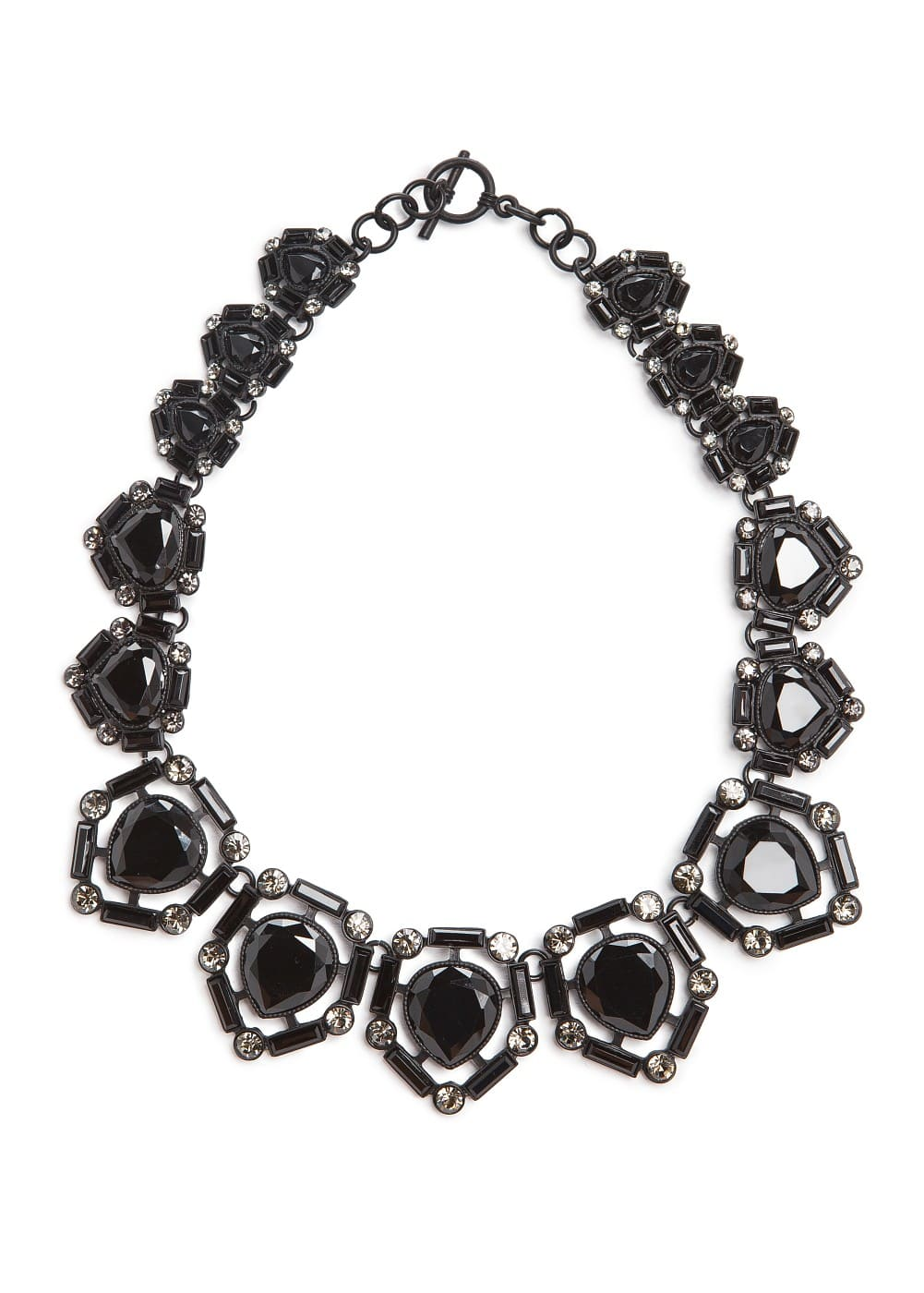 Faceted crystal choker