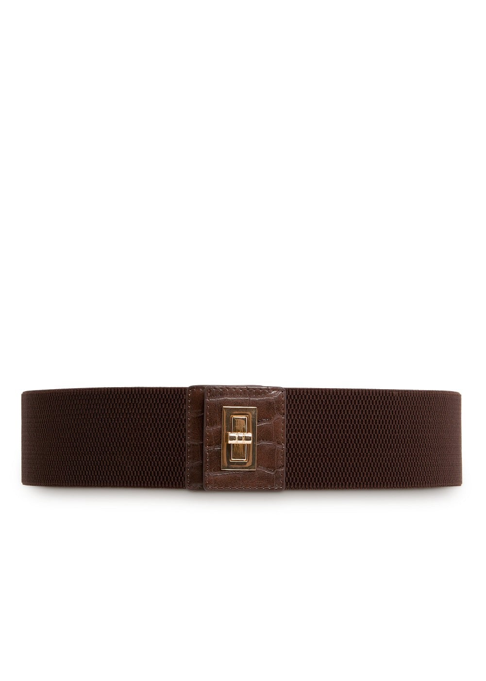 WIDE ELASTIC BELT