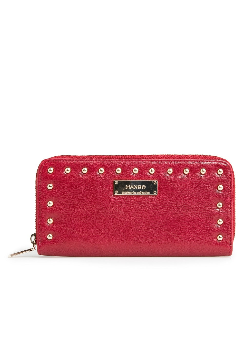 Rounded studs wallet
