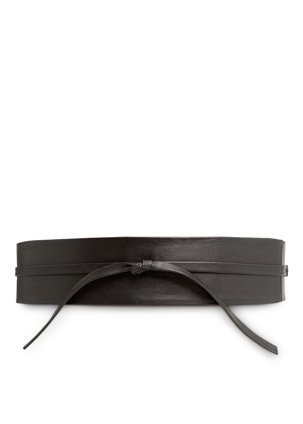 LEATHER SASH BELT