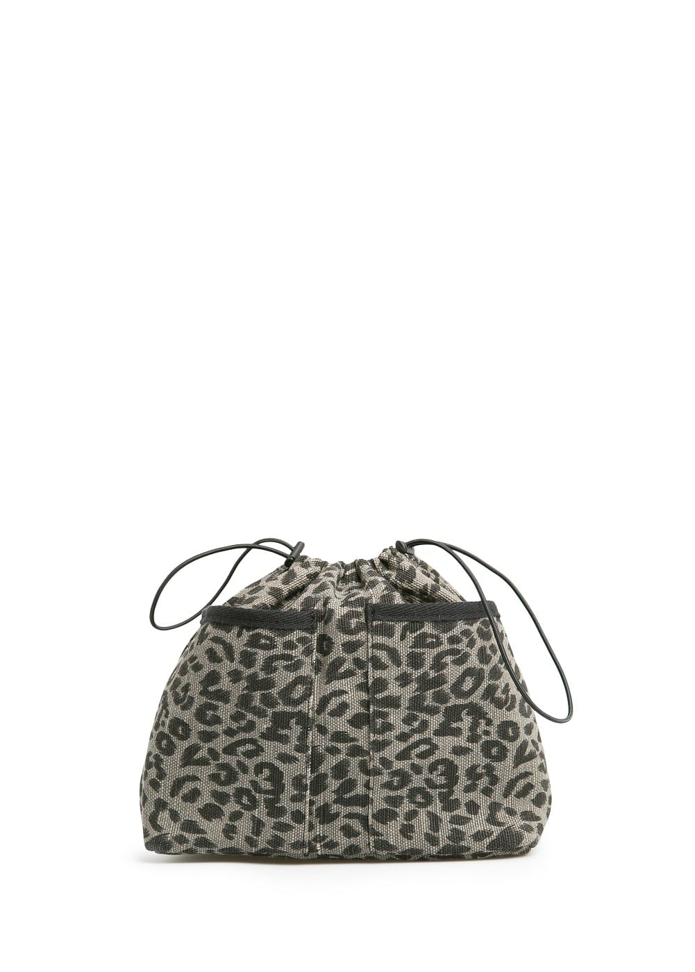 Bolso interior estampado leopardo