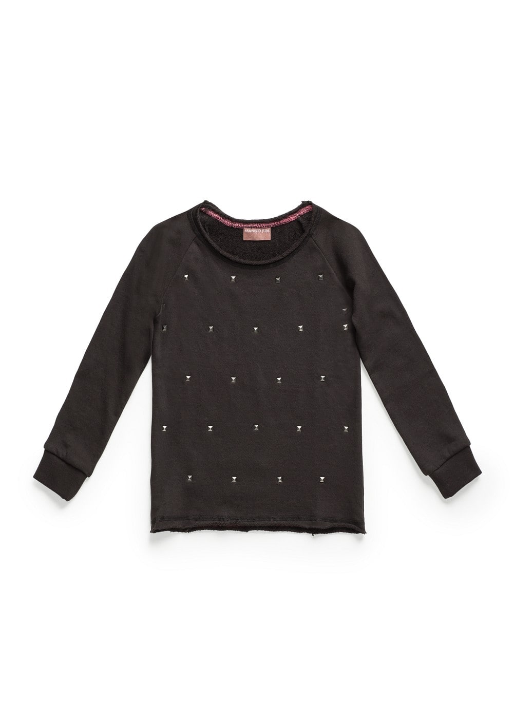 Studded sweatshirt | MANGO KIDS