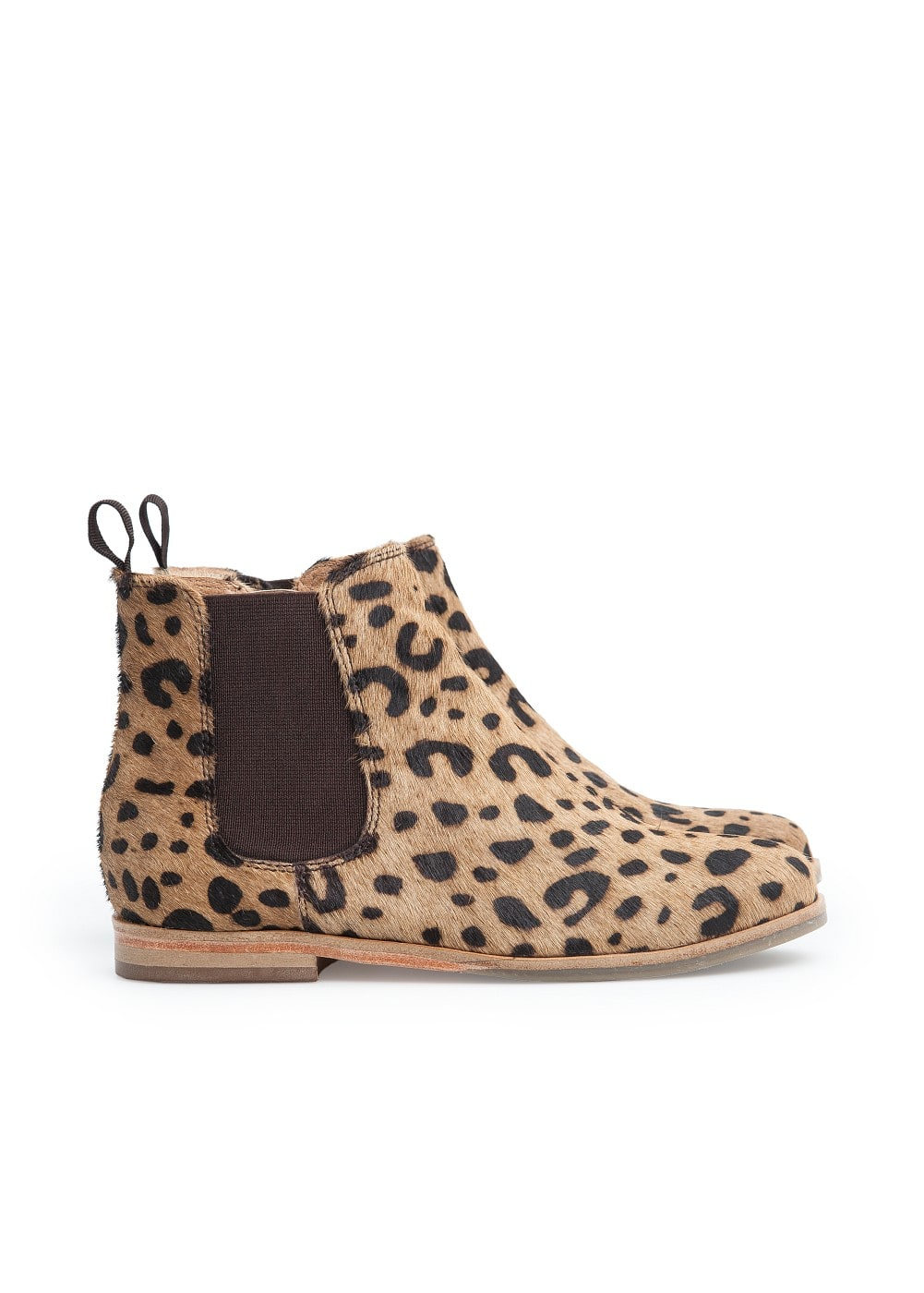 Leopard Chelsea ankle boots