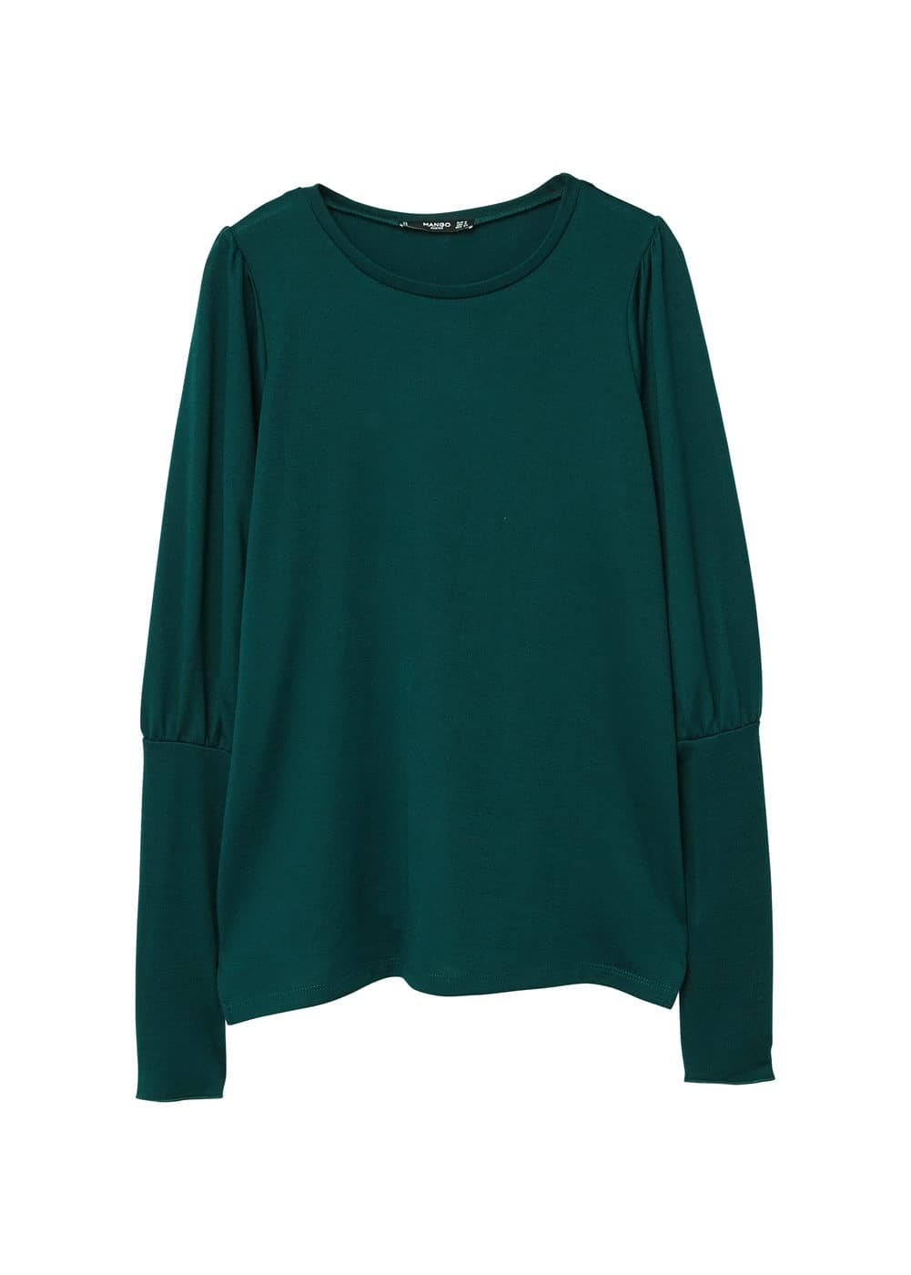 Pull-over manches bouffantes