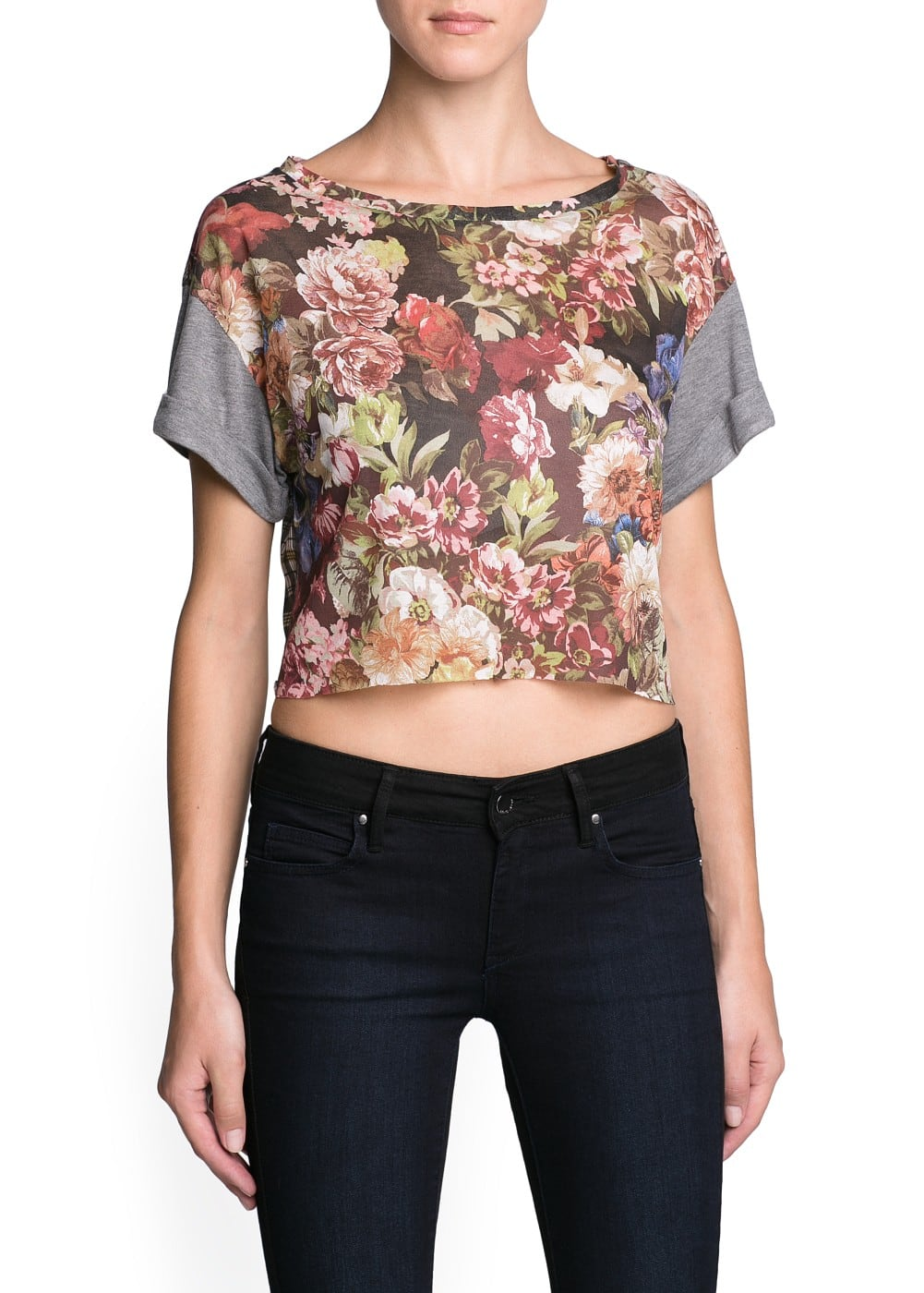 Combi cropped top