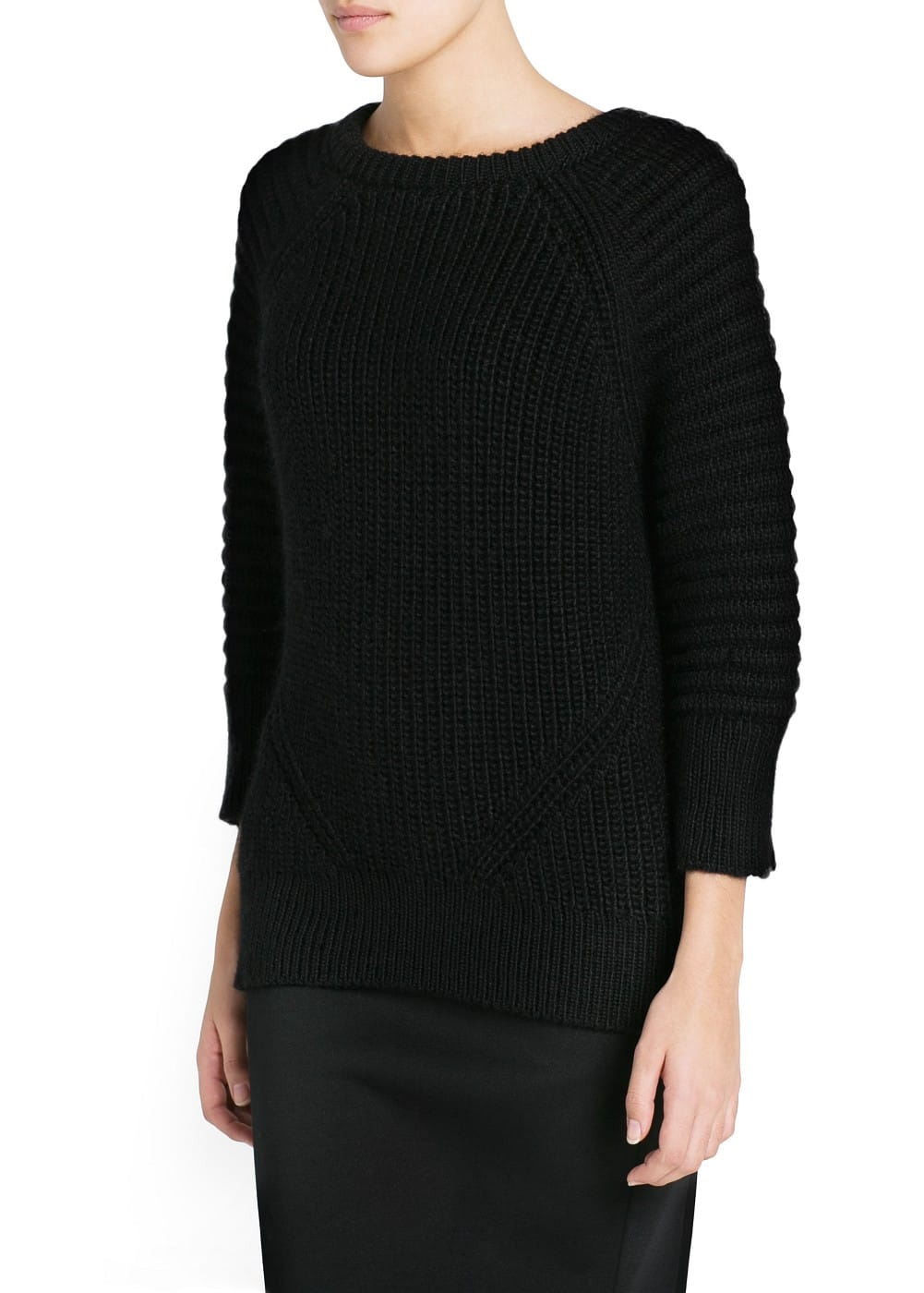Premium - mohair wool-blend sweater | MANGO