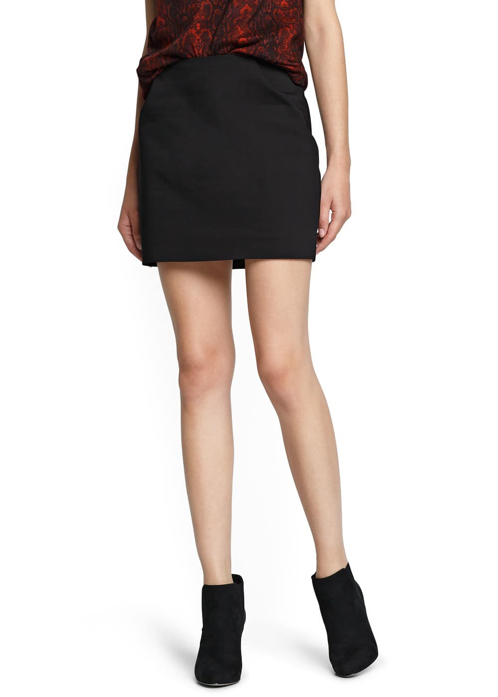Tailored miniskirt