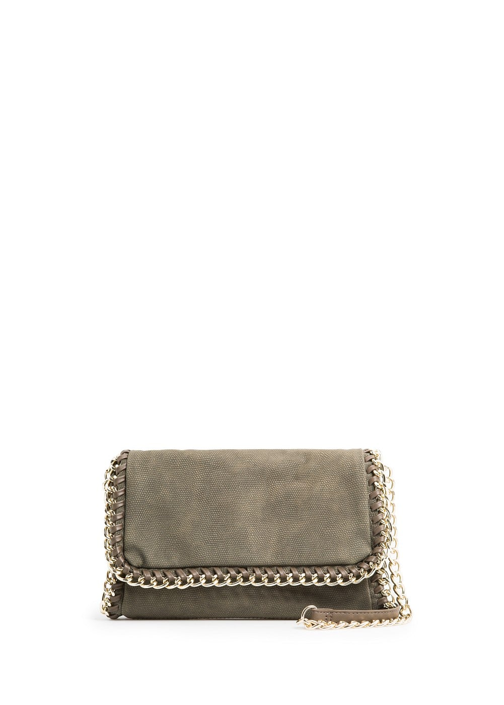 Animal texture shoulder bag | MANGO