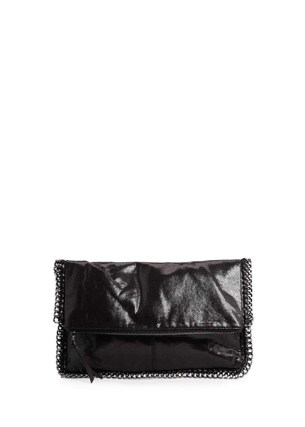 CHAIN METALLIC FOLDED CLUTCH