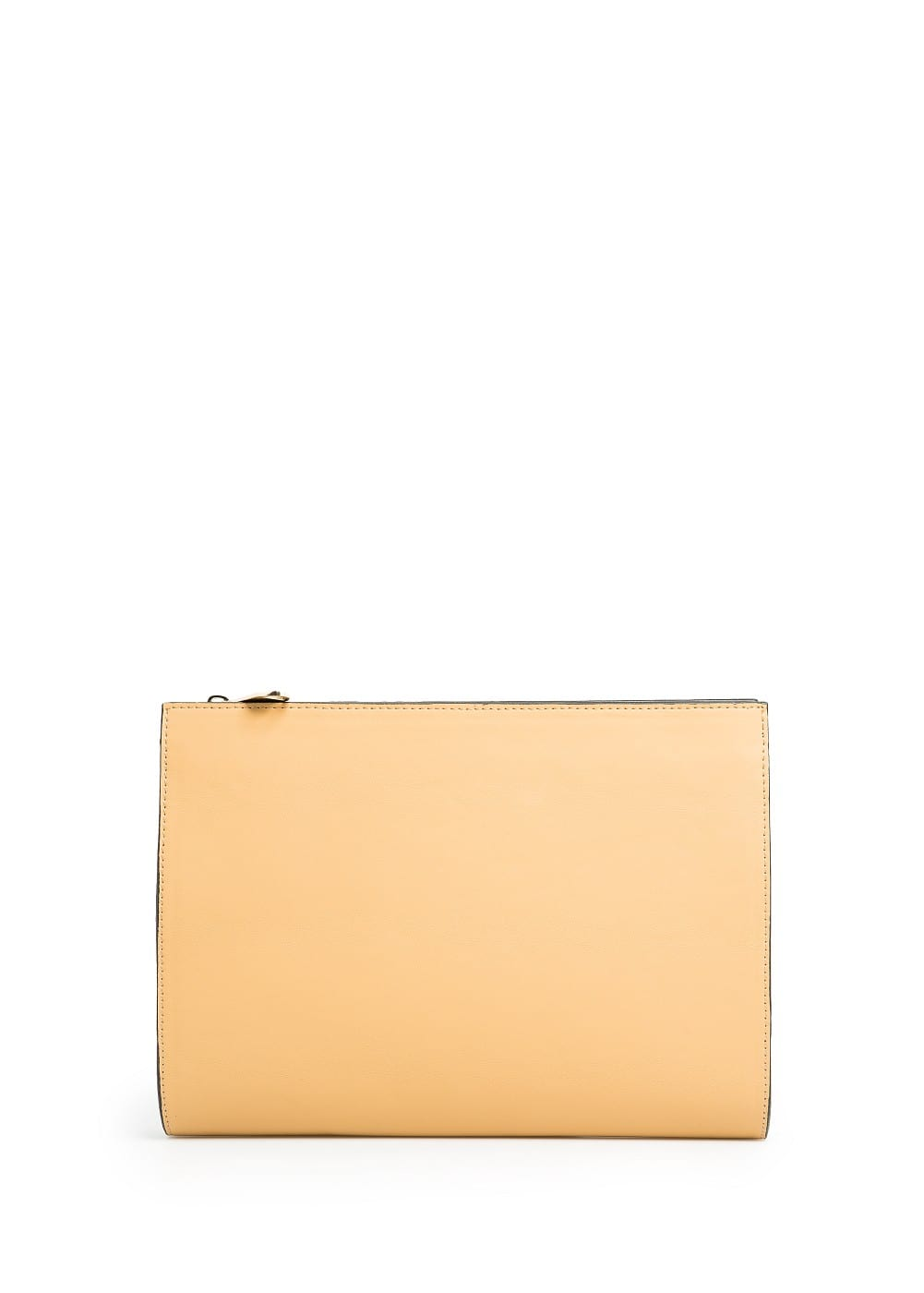 LEATHER EFFECT CLUTCH