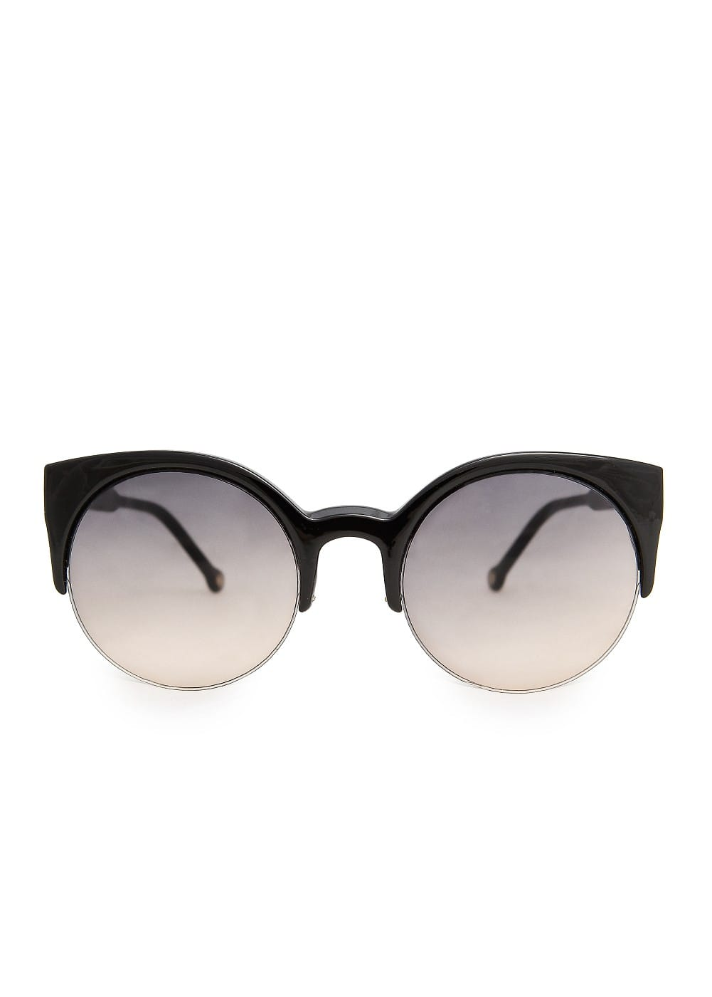 Half frame kitten sunglasses