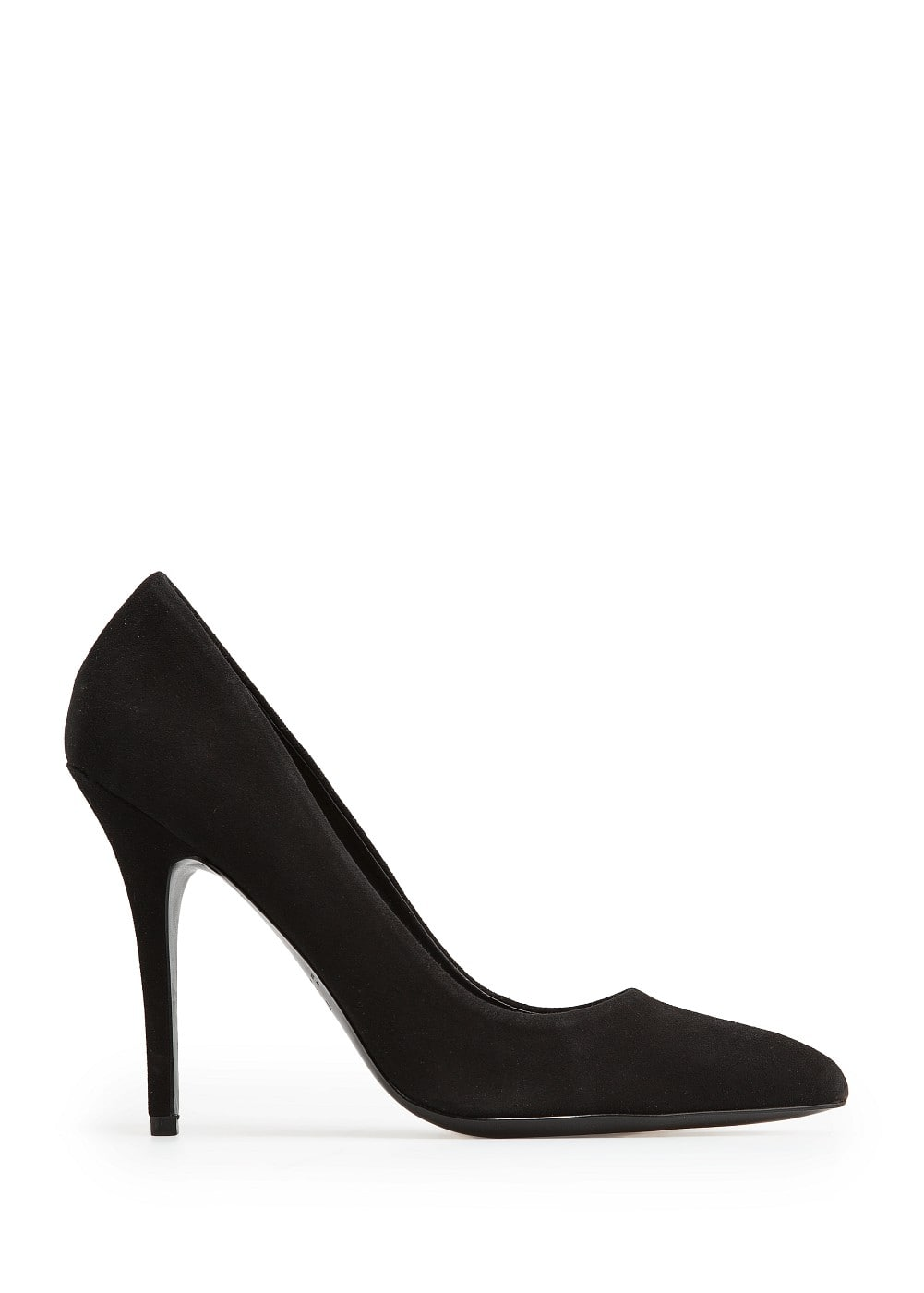 Suede stiletto shoes
