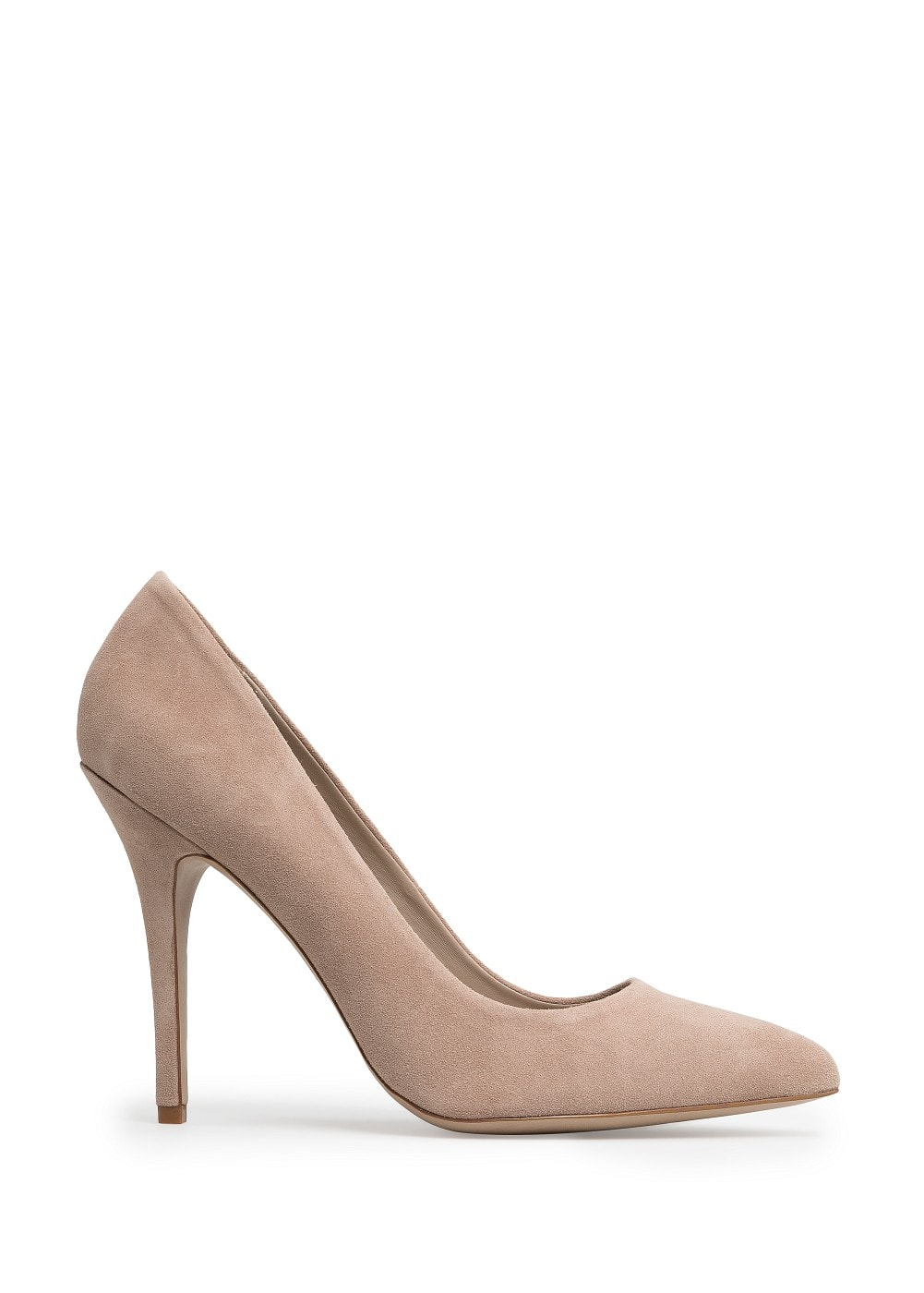 Suede stiletto shoes | MANGO