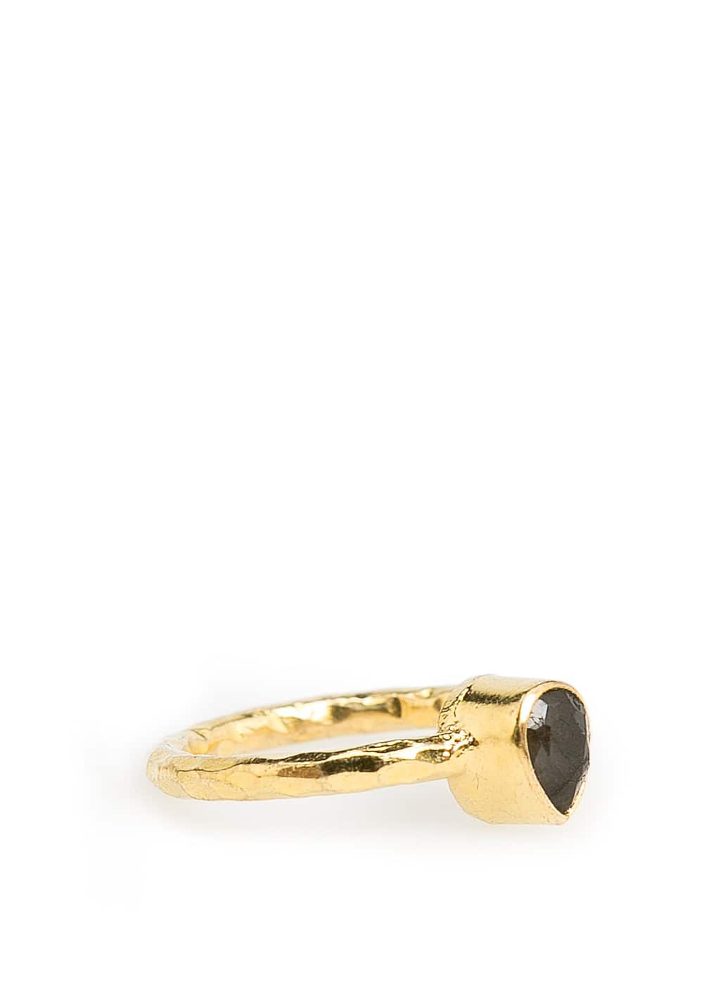 Stone embossed ring | MANGO