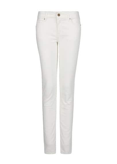 Super slim-fit ecru jeans
