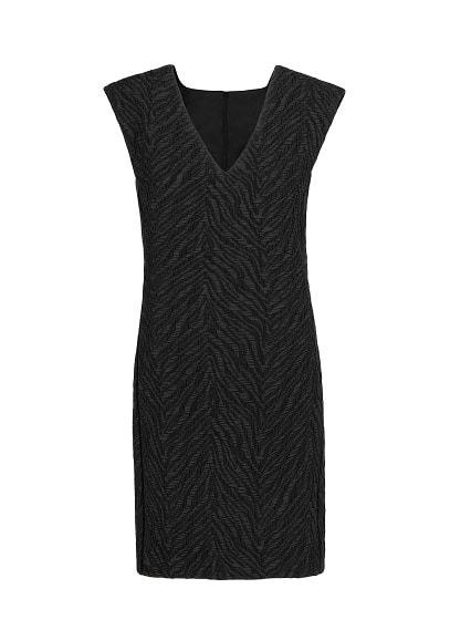 PREMIUM - Jacquard structured dress
