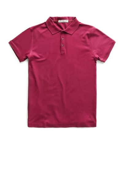 Logo cotton polo shirt