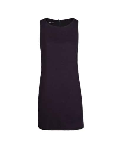Boucle strap dress