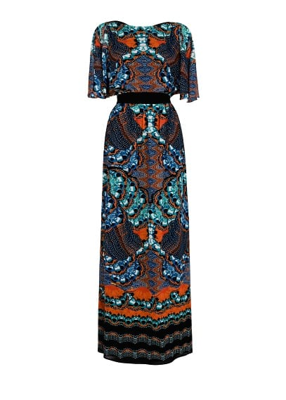 Printed long dress