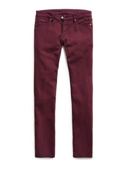 SLIM-FIT BURGUNDY ALEX JEANS