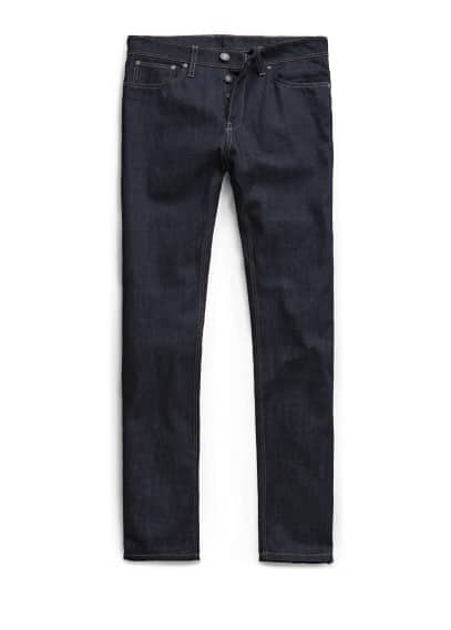 Straight-fit dark Robert jeans