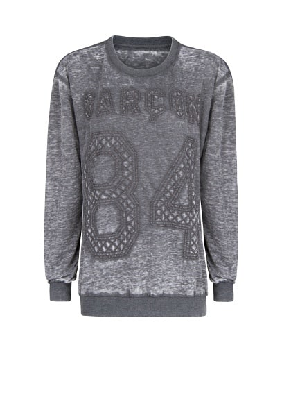 Acid wash Garçon sweatshirt