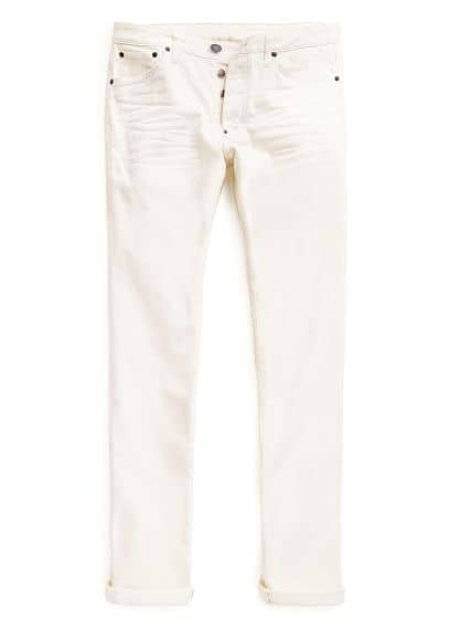 JEANS TIM SLIM-FIT CRUDOS