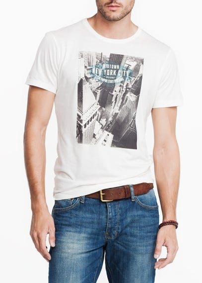 New York City printed t-shirt