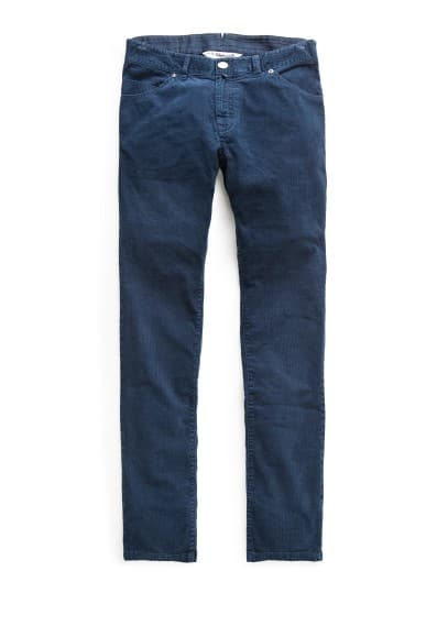 Slim-fit 5 pocket corduroy trousers