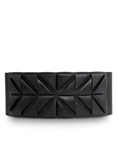 Origami stretch waist belt