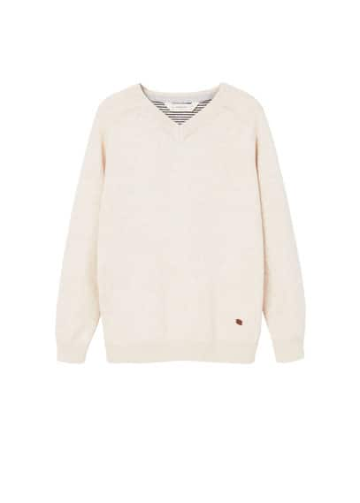 Pull-over basique coton