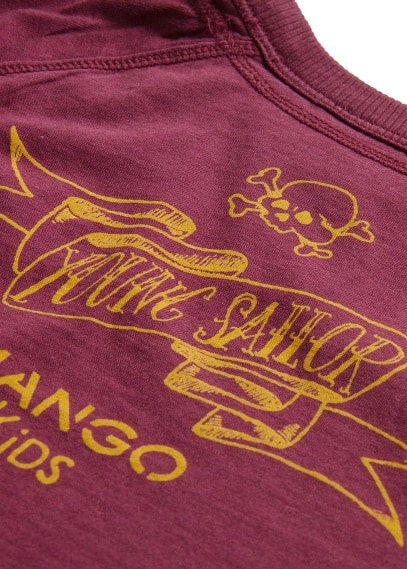 """YOUNG SAILOR"" PRINTED T-SHIRT"