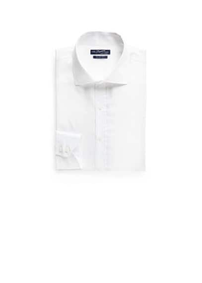 Slim-fit textured Premium shirt