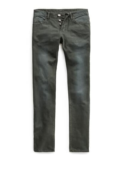 SLIM-FIT GREEN STEVE JEANS