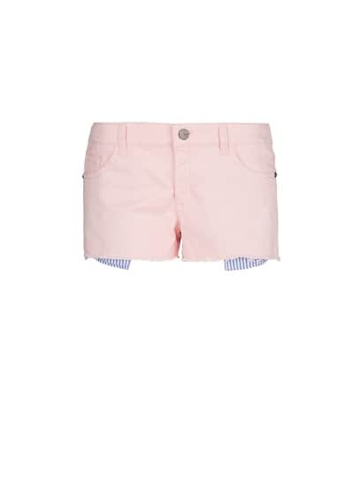 Contrast pocket short