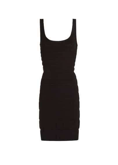 Knit bodycon dress